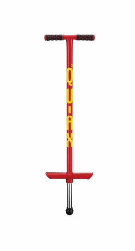 QU-AX Pogostick Rot, Fuer 20 Bis 30 kg Koerpergewicht, Aktuelles Modell