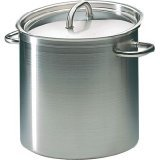 Matfer Bourgeat 694028 Excellence Stockpot without Lid, 11-Inch, Gray