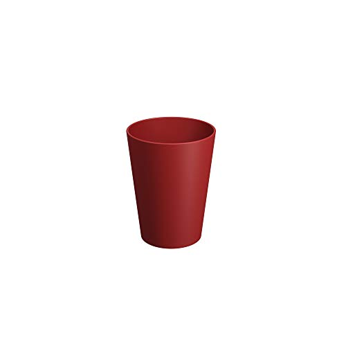 Copo Cônico 300 Ml Casual Coza Vermelho Bold