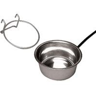 Bowl Quart Heated 1 (HEATED PET BOWL WITH CRATE MOUNT - 1 QUART)