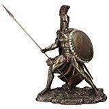Unicorn Studio Greek Military King Leonidas Statue Bronze Finish from Unicorn Studio