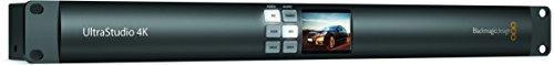 Blackmagic Design UltraStudio 4K Thunderbolt 2 External 1RU Rack Mount & Table-Top I/O Device Box, 2x 20Gb/s Thunderbolt 2 Ports by Blackmagic Design