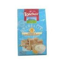 Loacker Quadratini Cube Vanilla Wafer, 8.83 Ounce - 8 per case.