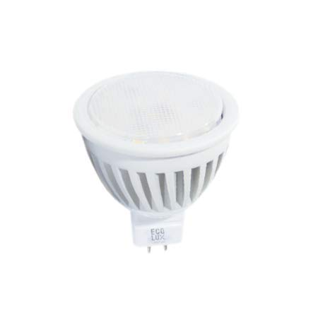 Bombilla LED MR16 5 W 12 V 380 lumens 3000 K - Ecolux: Amazon.es: Iluminación