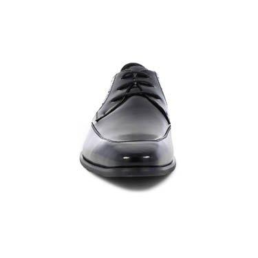 Stacy Adams Manchester Mens Svart Förkläde Tå Oxfords Läderklänningen Skor