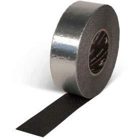 Gator Grip Foil Backed Conformable Anti-Slip Tape, Black, 4''W x 60'L Roll, SG4104AL (SG4104AL)