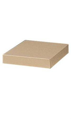 Count of 100 Apparel Boxes - Kraft - 86301-10'' x 7'' x 1¼â€