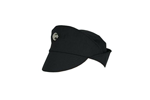 Star Wars Imperial Officer CAP Hat Wear Costume Black Grey Green Color/size (XL, Black) -
