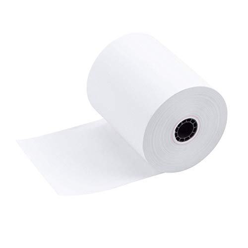 TEK POS Paper 3 1/8 in x 230 ft Thermal Paper - MADE IN THE USA - BPA Free (50 Pack) (Thermal Paper Register)