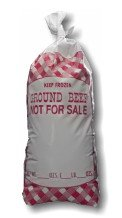Ground Beef 1 lb. Meat Bags NFS-1000 Pcs-4.25x10 (25-32-11-1000) - 1 Lb Ground Meat Bags