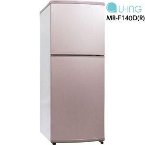 MR-F140D-R ユーイング 冷蔵庫 140L B00JIHP1AA