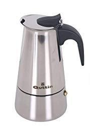 Quttin Cafetera 9 Tazas, Acero INOX, Todo Tipo de Fuego ...