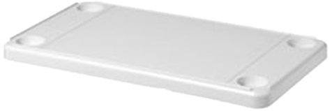 DetMar 12-1102-C Rectangular White Table Top