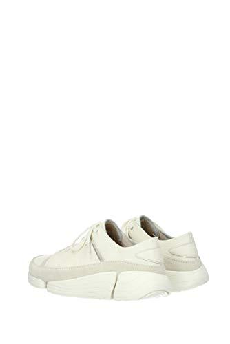 Sneakers 1trigenicevowhite Eu Donna Clarks Camoscio 41 dztdq