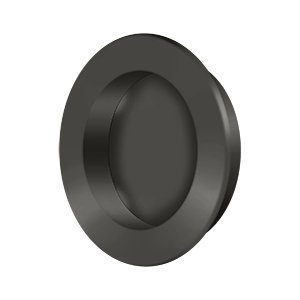 Deltana FP238U10B Round Flush Pull 2 1/2'' in Oil-Rubbed Bronze