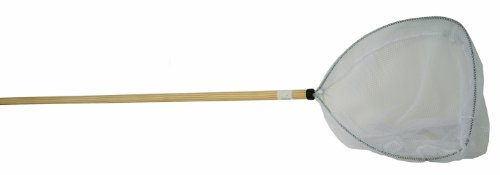 Cumings Shad Sand Flea Net with 4-Foot Wooden Handle