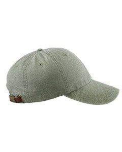 Adams Optimum Pigment Dyed Twill Cap (Cactus) (ALL)