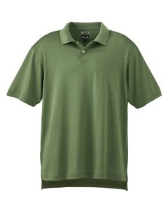 Mens Climacool Pique Polo Shirt - Adidas Golf A21 ClimaCool Mens Pique Polo - Grass - XXX-Large