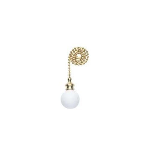 Westinghouse Lighting Corp 77072 12-Inch Wood Pull Chain, White - 2 Pack