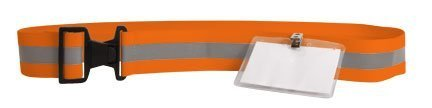 Reflex Sicherheit Reflektierende Gürtel w ID holder-neon Orange von Sayre Enterprises, Inc.