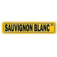 Sauvignon Blanc STREET - Drinks - Street Sign [ Decorative Crossing Sign Wall...