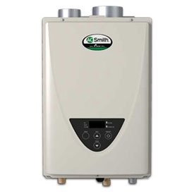 AO Smith Tankless Water Heater Non-Condensing Ultra-Low NOx Indoor 140,000 BTU Natural Gas