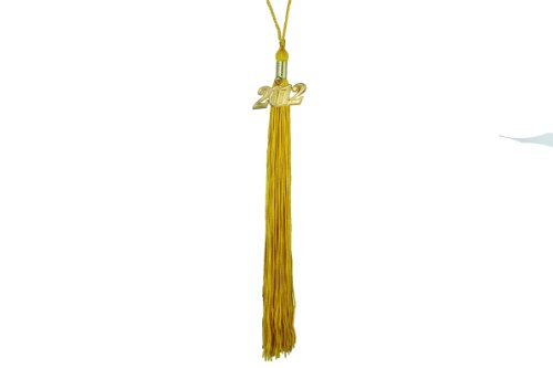 Graduation Tassel with 2011 Year Charm (Gold) 2011 Graduation Charm