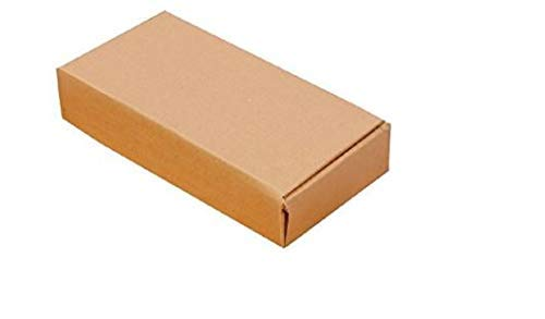corrugated boxes for packing (7x3.5x1 3Ply, Brown, Pack of 100)