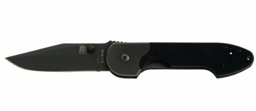 Ka-Bar Fin Mojo Straight Edge Folder Knife, Outdoor Stuffs
