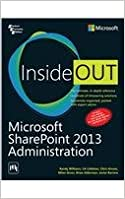 Book Microsoft Sharepoint 2013 Administration Inside Out