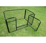 """Pawhut 4 Panel 28"""" Heavy Duty Dog / Pet Exercise Playpen Yard"""