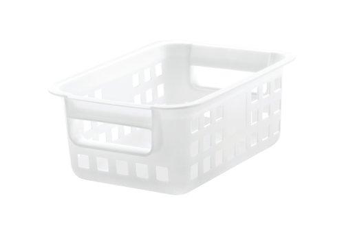 IRIS Small Plastic Storage Basket