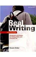 Real Writing with Readings 5e & paperback dictionary