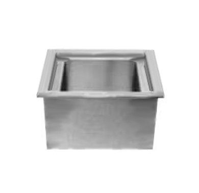 Drop In Iced Cold Pan - Wells ICP-100 Cold Food Unit drop-in iced cold pan 1-pan size with drain