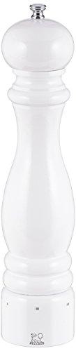 - Peugeot 27858 Paris U'Select 12-Inch Salt Mill, White Lacquer