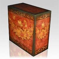 Memorials.com Virgil Floral Cremation Urn