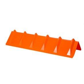 DC Cargo Mall Orange Vee Board Trailer Cargo Load Corner Edge Protector and Truck Tie-Down Strap Guard Bumper Cushion, 8