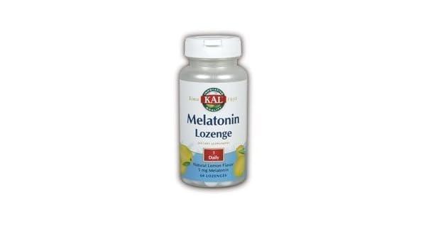 Amazon.com: KAL - Melatonin, 5 mg, 60 lozenges by KAL: Health & Personal Care
