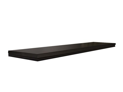 InPlace Shelving 0191409 Warwick Floating Wall Mountable Shelf with Invisible Bracket, Black, 18-Inch Wide by 8-Inch Deep by 1.25-Inch High by Lewis Hyman
