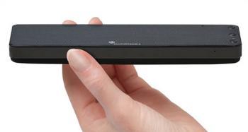 The slimmest, lightest hi-fi Bluetooth speaker in the world.