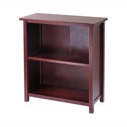 (Winsome Wood Milan Storage Shelf or Bookcase, 3-Tier,)