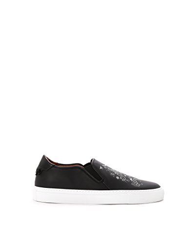 GIVENCHY-MENS-BM08223807001-BLACK-LEATHER-SLIP-ON-SNEAKERS