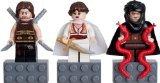 LEGO Prince of Persia Mini Figure Magnet Set - Dastan, Tamina, Hassanssin Leader