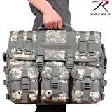 (MWS Green ACU Digital Camo MOLLE Tactical Military Laptop Briefcase Shoulder Bag)