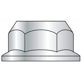 Serrated Hex Flange Nut - #10-32 - Zinc CR+3 - Case Hardened Steel - UNF - Pkg of 100 - BBI 857160 (Pack of 15)