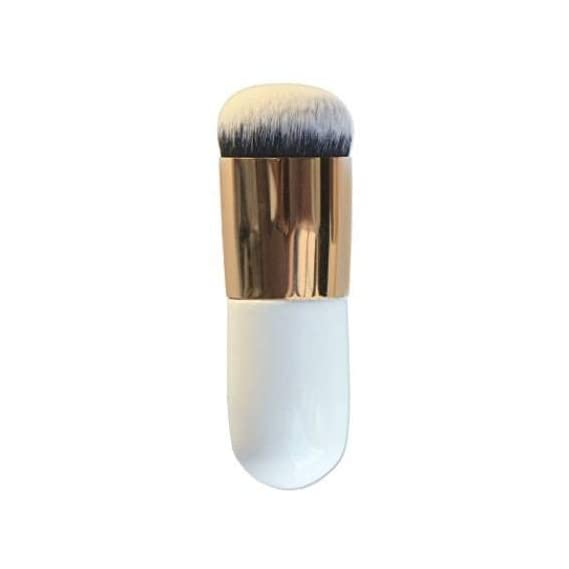 Angelie Foundation Makeup Cosmetic Brush (Natural White Colour)