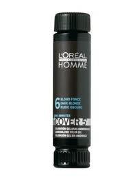 Loreal Homme Cover 5 - Ammoniac gratuit 5 minutes Couleur pour les hommes (3 Darkest Brown)