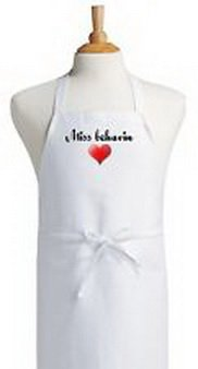 Blazers Proforms Costumes - Miss Behavin Cute Aprons For Women Cooking Aprons Womens KItchen Aprons