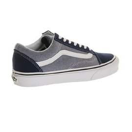 Vans Sk8-Hi - Zapatillas de skateboarding de ante para hombre Estate Blue Chambray