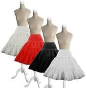 Bianco Boolavard /® 50s 26 Retro Sottogonna Vintage Petticoat Fancy Net Gonna Rockabilly Tutu
